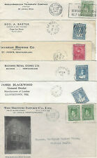SIX DIFFERENT NEWFOUNDLAND BUSINESS COVERS  LOT 1