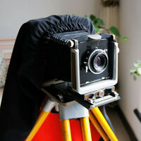 Dark Cloth Focusing Hood For 4X5 Large Format Camera Wrapping 100*100cm