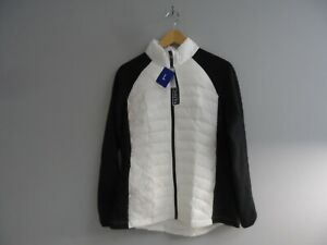 32 Degrees Women's Weatherproof Ultra Light Down Puffer Jacket White/Black