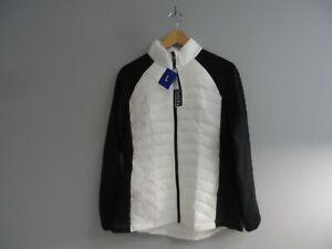32 Degrees Women's Weatherproof Ultra Light Down Puffer Jacket White/Black