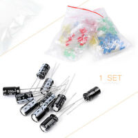 Electronic Gift Pack Resistor Capacitor Transistor Diode Led Assortment Kit