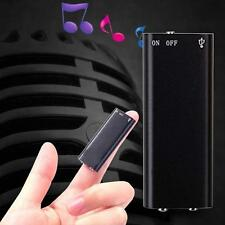 8GB Digital Dictaphone USB MP3 Player Spy Voice Recorder Listening Device Hot P^