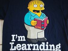 "The Simpson's Ralphie ""I'm Learnding"" Funny T Shirt Adult Size S"