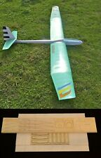 99 in. wing span AQUILA R/c Glider Plane short kit/semi kit and plans