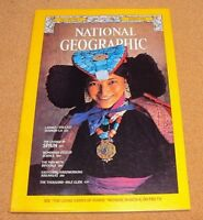 National Geographic March 1978 SPAIN Ladakh Science Arkansas 1000 Mile Glide