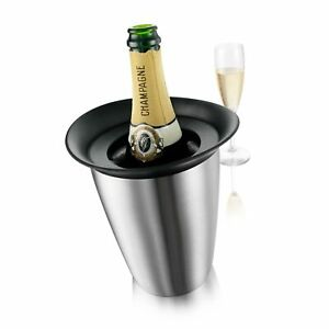 Vacu Vin Active Cooler Champagne Elegant, Stainless Steel - Gift Box of 1