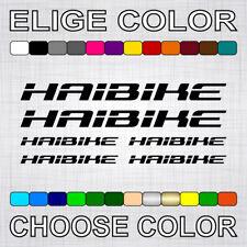 """Aufdruck weiß//transparent HAIBIKE Aufkleber Haibike /""""FLYON/"""" 80x12,7cm weiß"""