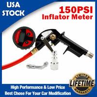 150PSI Tire Inflator Car Digital Pressure Gauge Manometer Meter Tester Air Chuck
