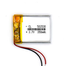 3.7V 350 mAh 502530 Li-Polymer Rechargeable Battery Li Po for GPS Bluetooth MP3