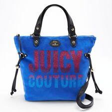 NWT Juicy Couture Velour Mini Convertible Tote Satchel Designer Shoulder Bag -
