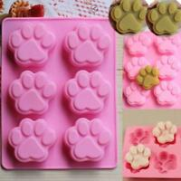 3D DIY Pet Paw Fondant Silicone Cake Chocolate Sugar Craft Mold Tool Jian