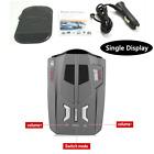 360  Adjustable Car Speed speedometer Radar Laser Detector Voice Alert Safety