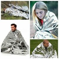 50X Premium Waterproof Foil Thermal Emergency Blanket First Aid Camping Survival