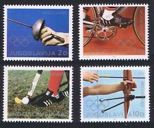 Mint Never Hinged/MNH Olympics Yugoslavian Stamps