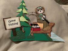 Handmade Paper Piecing Gone Fishing