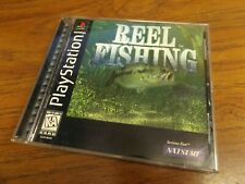 Reel Fishing (Sony PlayStation 1, PS1) Complete - Tested