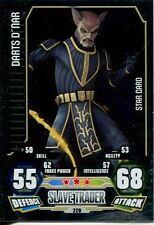 Star Wars Force Attax Series 3 Card #220 Darts Dnar