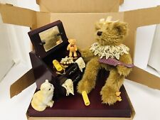 Collection Plush Choice Bears Sitting At Make Up Table