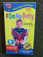 I Can Go Potty Potty Training for Boys and Girls (VHS, 2003)