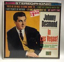 Johnny Desmond In Las Vegas Album LP Record Mint Sealed Rare!
