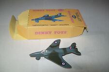 Modèle réduit  avion Vickers Swift  Dinky Toys + boite