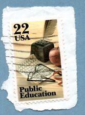 FRANCOBOLLO Stati Uniti 1985 PUBBLICA ISTRUZIONE SG2198