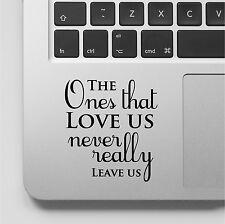 Harry Potter Laptop Decal MacBook Sticker Quote Computer Vinyl Decal Book Quote