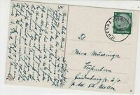 German 1930s Child in mountain scene Stamps Card ref R 18108