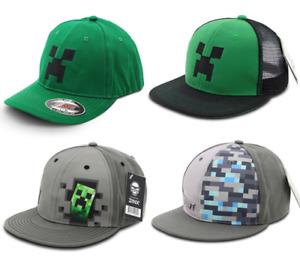 Adult Kinder Cosplay Minecraft Kappe Cap Sommer Kopfbedeckung Sonnenhut Neu
