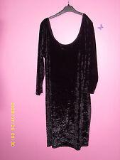 Knee Length Long Sleeve Velvet Dresses for Women