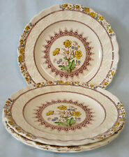 Copeland Spode Buttercup Bread Plate Set of 4