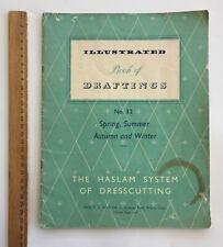 Original Dress Sewing Patterns 1940/50's Fashion ART HASLAM Drafting No 32
