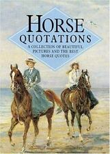 Horse Quotations (Quotations Books)
