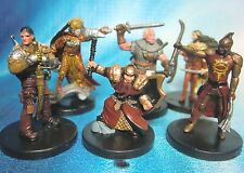 Dungeons & Dragons Miniatures Lot  Player Character Party Seasoned !!  s101