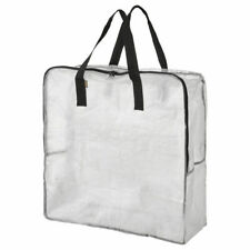 Set of 2 IKEA DIMPA Storage Bags Transparent