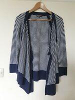 Laura Ashley Waterfall Thin Knit Cardigan Top Size 14