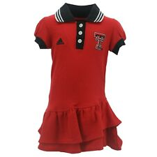 Texas Tech Red Raiders NCAA Adidas Infant Toddler Girls Size Dress-Style Outfit