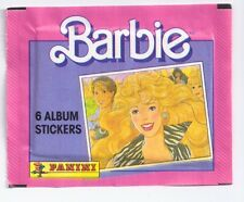 BARBIE 1989 Panini italy pack sticker misb - bustina pacchetto figurine