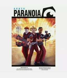 Paranoia: Acute Paranoia - Brand New & Sealed