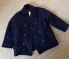 Jacadi Paris Boys Coat Jacket Navy Sz6A Wool Original Designer
