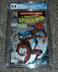 1992 MARVEL AMAZING SPIDER-MAN #361 2ND PRINT 1ST APPEARANCE CARNAGE CGC 9.4