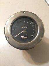 Rare Vintage Bendix Nautical Boat Speedometer Knot Gage