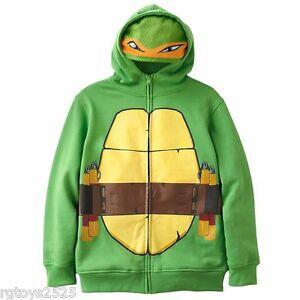 NEW Teenage Mutant Ninja Turtles TMNT HOODIE SWEATSHIRT JACKET Boys Sz 2X XXL 18