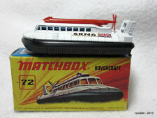 Matchbox Superfast NEW no. 72 HOVERCRAFT in original  box made in England