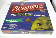 Scrabble Shrek edition board game FACTORY SEALED Green Tiles NEW Rare FREE SHIP