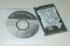 """Dell Latitude D630 160GB 2.5"""" SATA Hard Drive 7200rpm with Caddy and Driver DVD"""