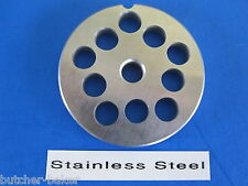 "#8 x 3/8"" hole size plate disc for Porkert meat grinder mincer food chopper"