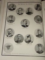 1899 BOER WAR BRABANT BLUNDELL TURNER &C FALLEN HEROES