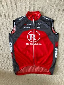 Trek Radioshack cycling gilet XXL Livestrong/Bontrager