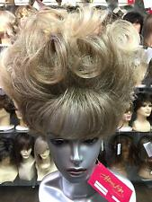 SIN CITY WIGS BIG PRETTY BLONDE UP DO PERFECT CURLS BANGS ELEGANT NIGHT OUT GLAM
